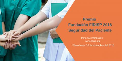 Premio FIDISP en Seguridad del Paciente