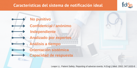 Sistema de notificación ideal-FIDISP