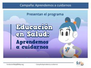 Presentación programa aprendemos a cuidarnos