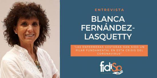 Enfermeras gestoras COVID-19 Blanca Fernande-Lasquetty