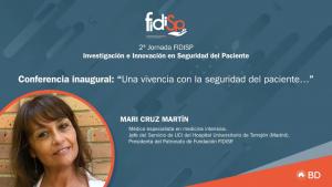 Mari Cruz Martin-2ª Jornada FIDISP Investigación e Innovación en Seguridad del Paciente