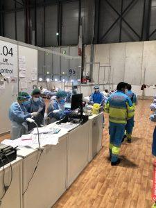 Trabajando Hospital IFEMA