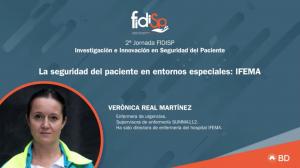 Verónica Real-2ª Jornada FIDISP Investigación e Innovación en Seguridad del Paciente